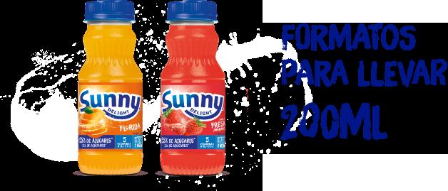 Sunny Deligth botella 200 ml