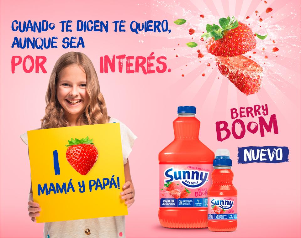 Sunny Delight Berry Boom