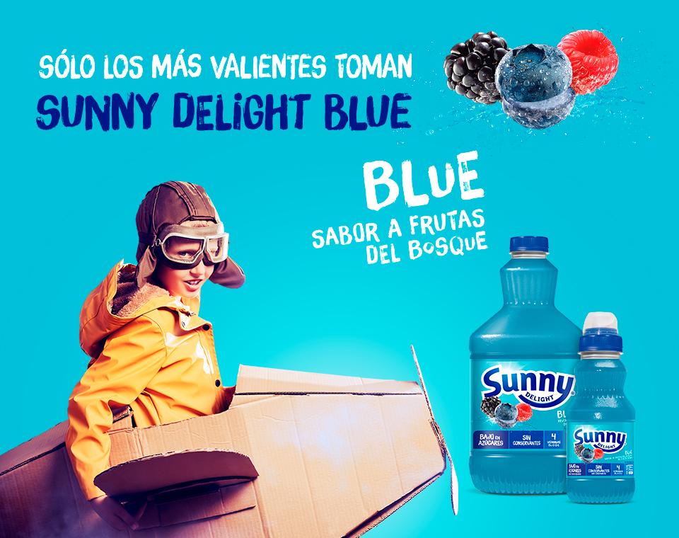 Sunny Delight Blue